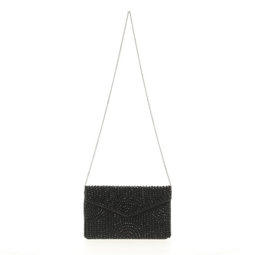 Clutch Black Beaded